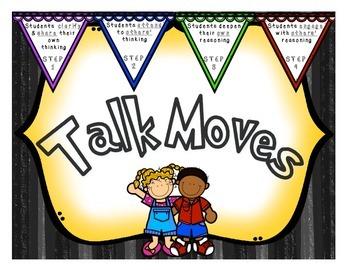 TALK MOVES classroom posters