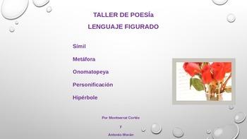 POESIA ppt: Lenguaje Figurado- Simil, Metáfora, Onomatopey