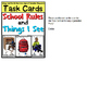 School Rules and Things I See in a Special Education Class