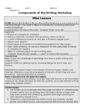 TC Informational Writing Grade 1 BEND 2 BUNDLE (sessions 9-14)