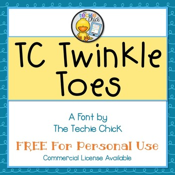 TC Twinkle Toes font - Personal Use