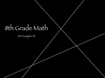 TCAP 8th Math Sampler 1