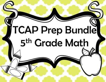 5th Grade Math Review Bundle {Task Cards, Scavenger Hunts,