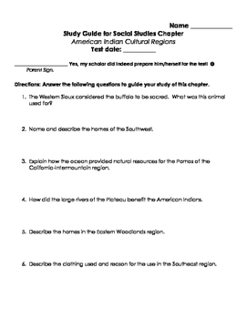 TCI's America's Past Chapter 3 Study Guide