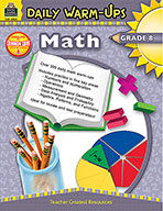 Daily Warm-Ups: Math Grade 8 (Enhanced eBook)