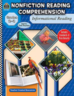 Nonfiction Reading Comprehension: Informational Reading, G
