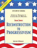 Critical Thinking in US History: ReconstruCritical Thinkin