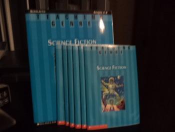 TEACHING GENRE SCIENCE FICTION    (SET OF 7)