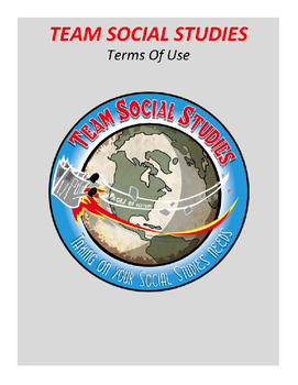 "TEAM SOCIAL STUDIES ""Terms Of Use"""
