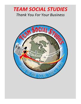 "TEAM SOCIAL STUDIES ""Thank You"""