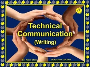 "TECHNICAL COMMUNICATION - WRITING (PPT) ""Preparing Student"