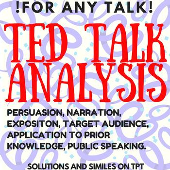 TED Talk Analysis