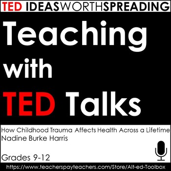TED Talk Assignment (How Childhood Trauma Affects Health A