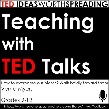 TED Talk Assignment (How to Overcome Our Biases? Walk Bold