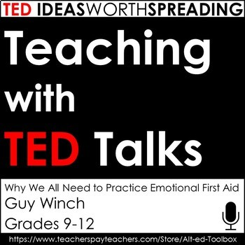 TED Talk Lesson (Why We All Need to Practice Emotional First Aid)