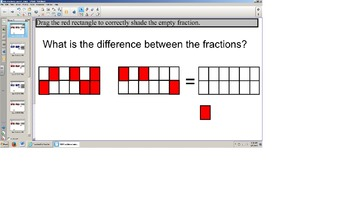 TEI SOL 3rd Grade Adding and Subtracting Fraction Models S