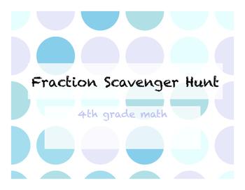 TEK Aligned - Fraction Scavenger Hunt
