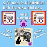 TEKS 5.3J and 5.3L BUNDLE 3 Activities Unit Fraction Divis