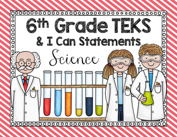 TEKS Posters - 6th Grade Science