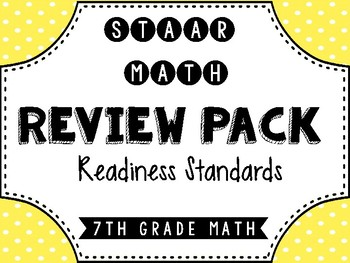 7th Grade STAAR Review & Prep Packet