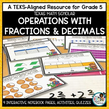 TEKSas STAAR Masters: Operations with Fractions and Decima