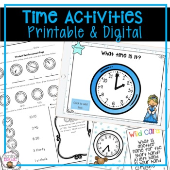 1 week unit TELLING AND WRITING TIME CCSS UNIT  INTERACTIV