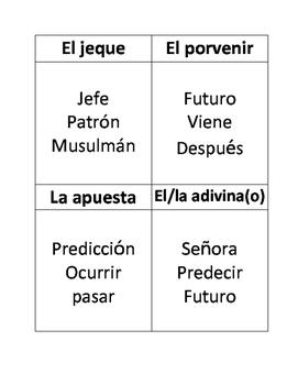 TEMAS: EL futuro todos autonomos TABOO GAME