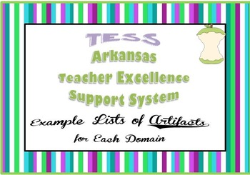 TESS (Teacher Excellence Support System) List of Example A