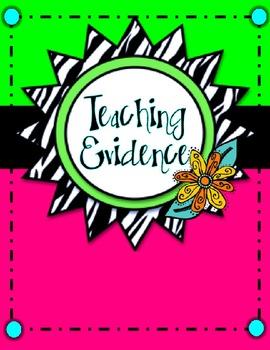 Teacher Evaluation Evidence Binder - Charlotte Danielson M