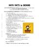 MATH FACTS | Vocabulary | Gr 3-4 CORE |  COLOR | Geometric