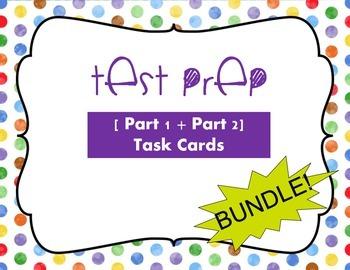 TEST PREP [Part 1 + Part 2] BUNDLE! ELA and Reading; Task