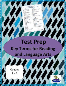 TEST PREP: Reading and Language Arts Academic Vocabulary G
