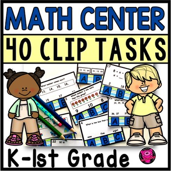 First Grade MATH CLIP TASK and ACTIVITIES