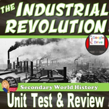 Industrial Revolution TEST & REVIEW– (World History)