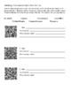 FREEBIE TEXT STRUCTURE QR CODES MATCHING CENTER ACTIVITY H