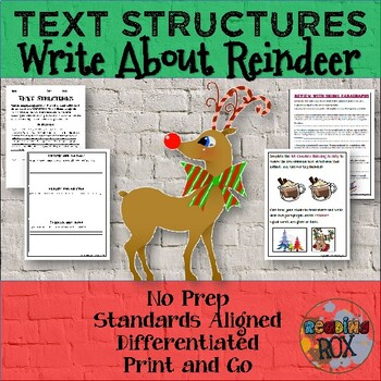 TEXT STRUCTURES: review then write about REINDEER-winter h
