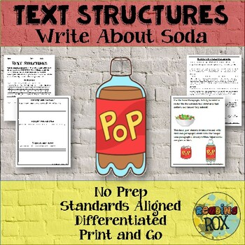 TEXT STRUCTURES review and write about SODA