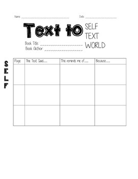 TEXT TO self, text, world