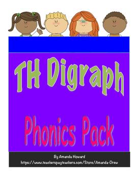 TH Digraph Leveled Phonics Pack