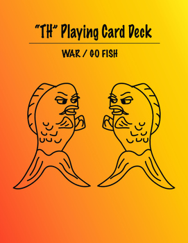 Speech Therapy th Card game