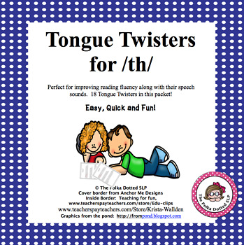 /TH/ Tongue Twisters for Carryover