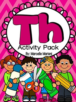 TH Activity Pack- Worksheets, Centers, Flip & Fold-able bo