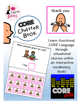 THANK YOU: Interactive CORE City Chatter Book