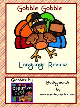 THANKSGIVING Language Review Grades Primary