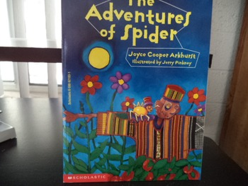 THE ADVENTURES OF SPIDER    ISBN0-590-62183-1