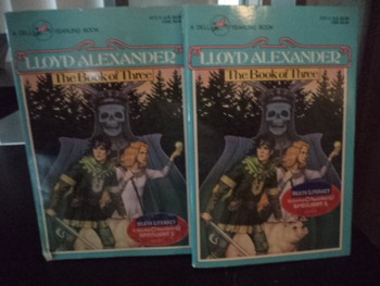 THE BOOK OF THREE         ISBN0-440-40702-8    (set of 2)