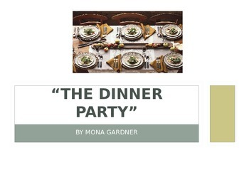 THE DINNER PARTY by Mona Gardner