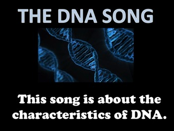 THE DNA SONG