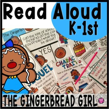 THE GINGERBREAD GIRL CLOSE READ UNIT and ACTIVITIES