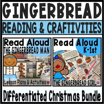 THE GINGERBREAD MAN and THE GINGERBREAD GIRL CLOSE READ BUNDLE